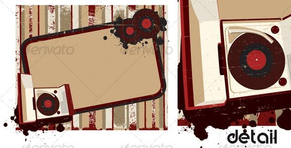 Old-fashioned background II - Backgrounds Decorative