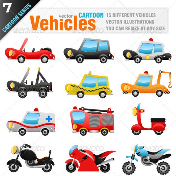 15 Vector Vehicles