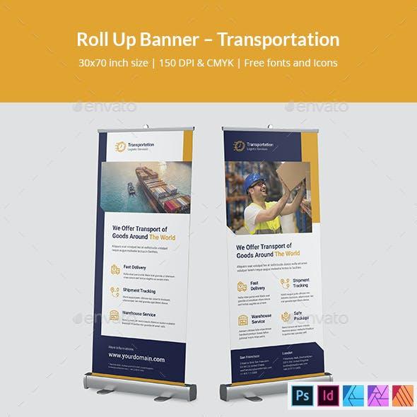 Roll Up Banner Transportation