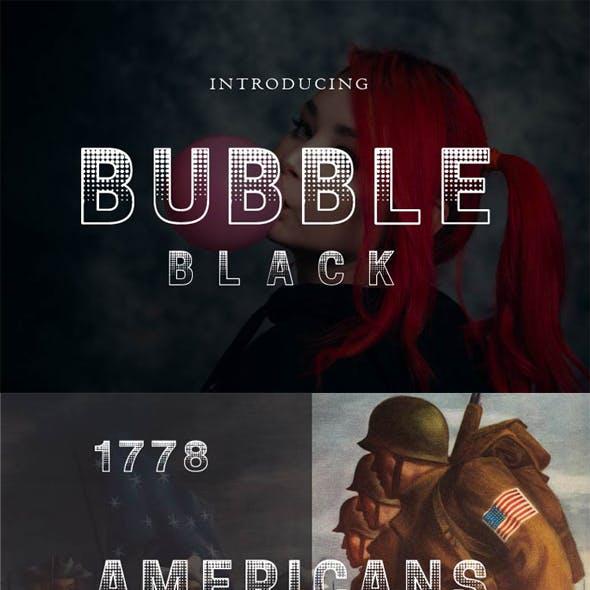 Bubble Black