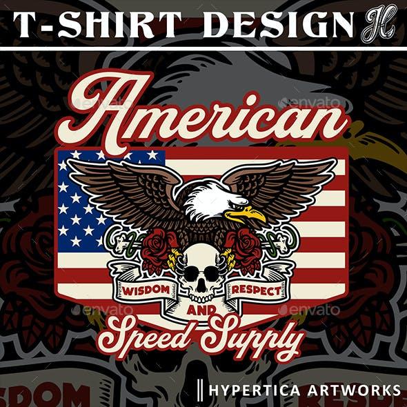 Eagle Illustration of USA Part 2