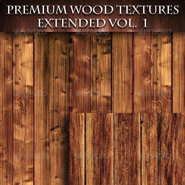 Premium Wood Textures Extended - Vol. 1