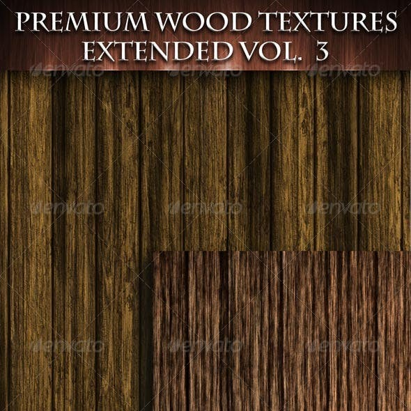 Premium Wood Textures Extended - Vol 2