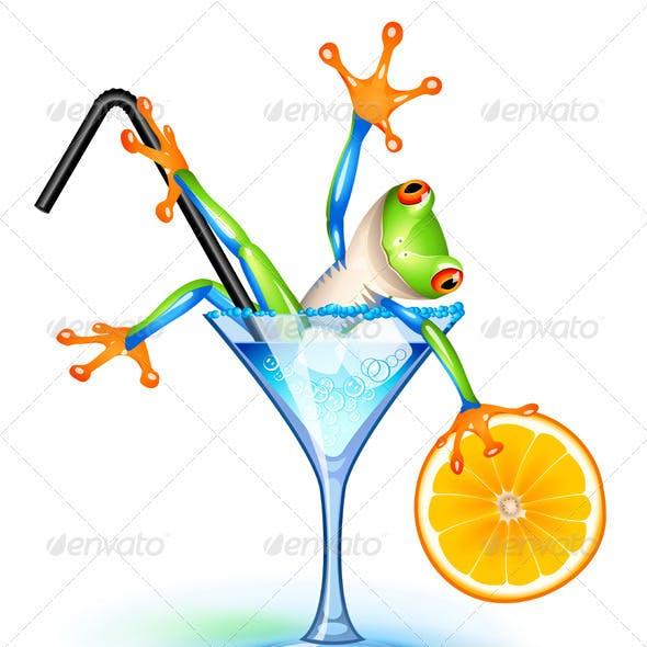 Cocktail Frog