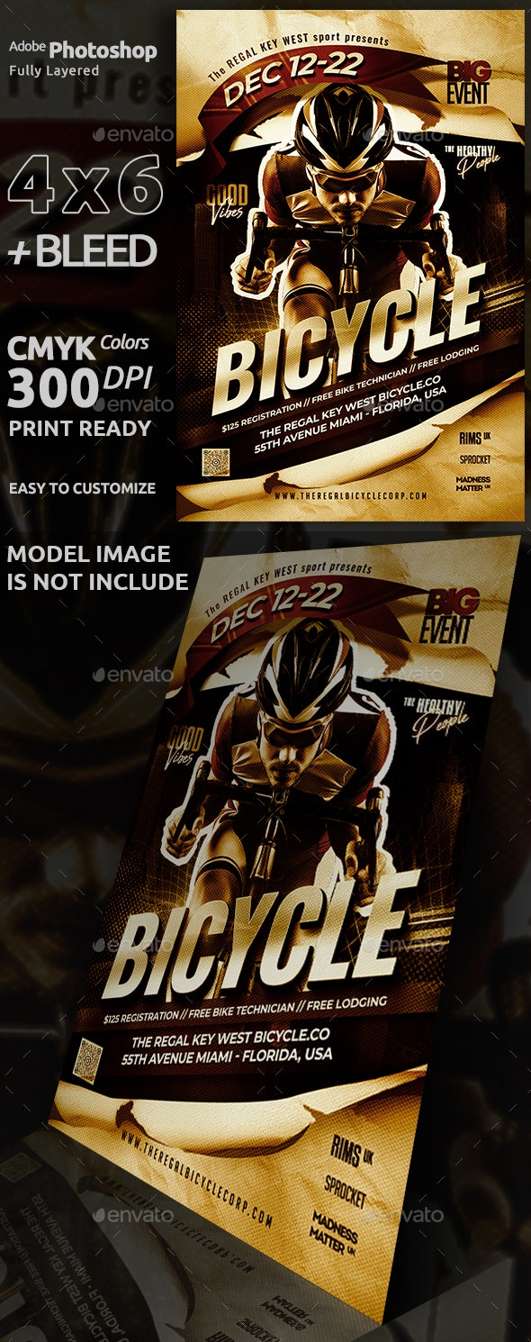 Bicycle Sport Flyer - Sports Events