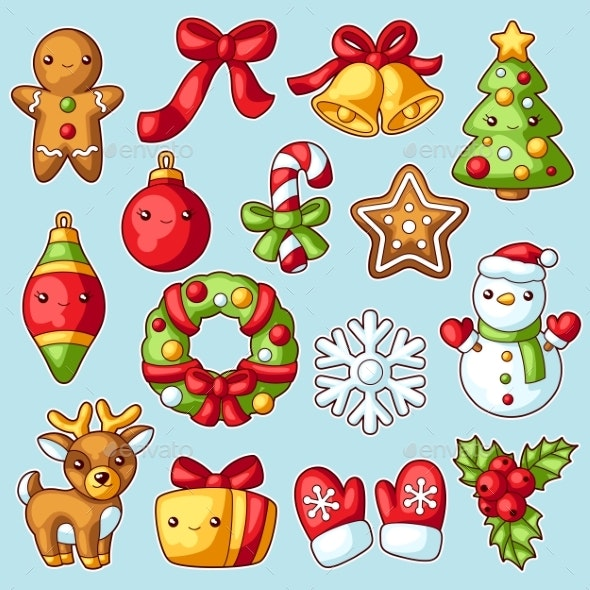 Sweet Merry Christmas Set - Christmas Seasons/Holidays