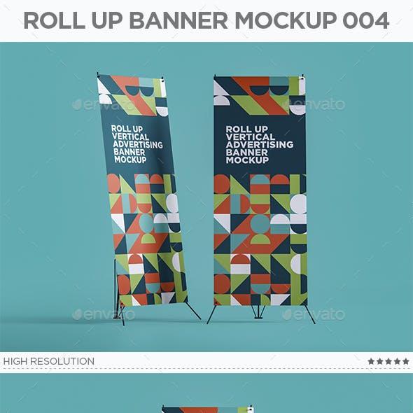 Roll Up Banner Mockup 004