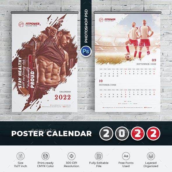 2022 Poster_Calendar Template