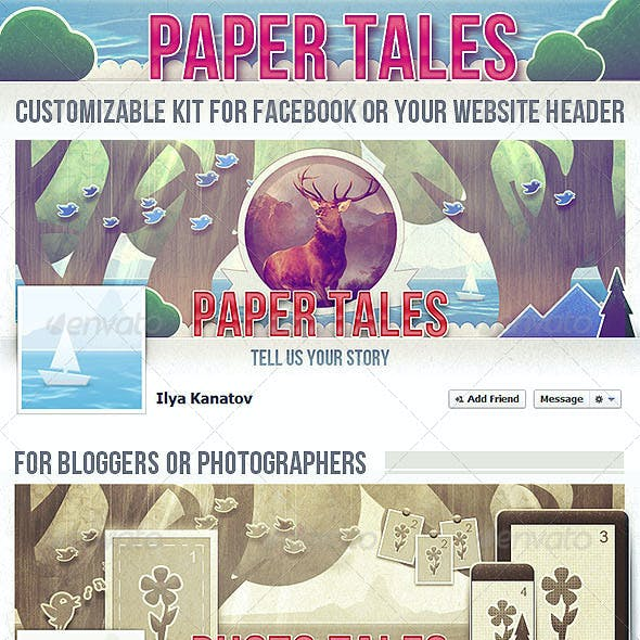 Paper Tales FB Timeline Cover