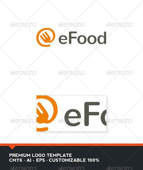 eFood Logo Template - Food Logo Templates