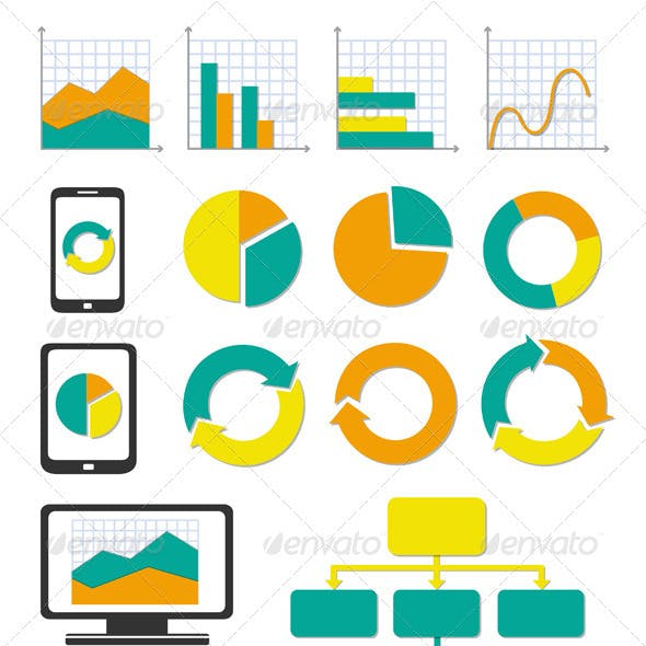 Business Chart And Info Graph Icons