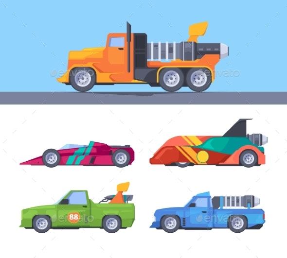 Fast Trucks - Miscellaneous Vectors