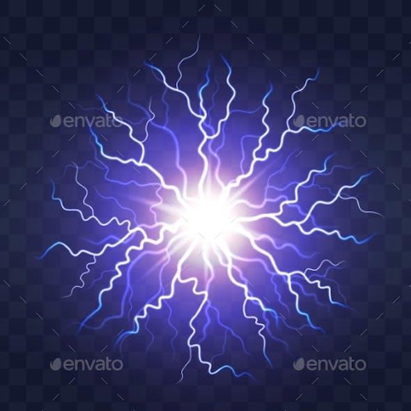 Lightning Flash Light Thunder Spark