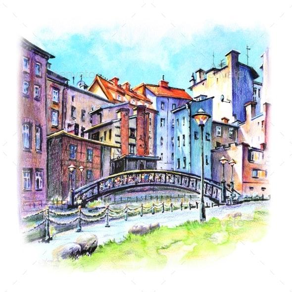 Bydgoszcz Venice Poland - Urban Backgrounds
