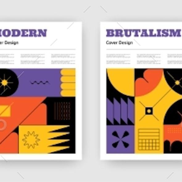 Brutalism Posters