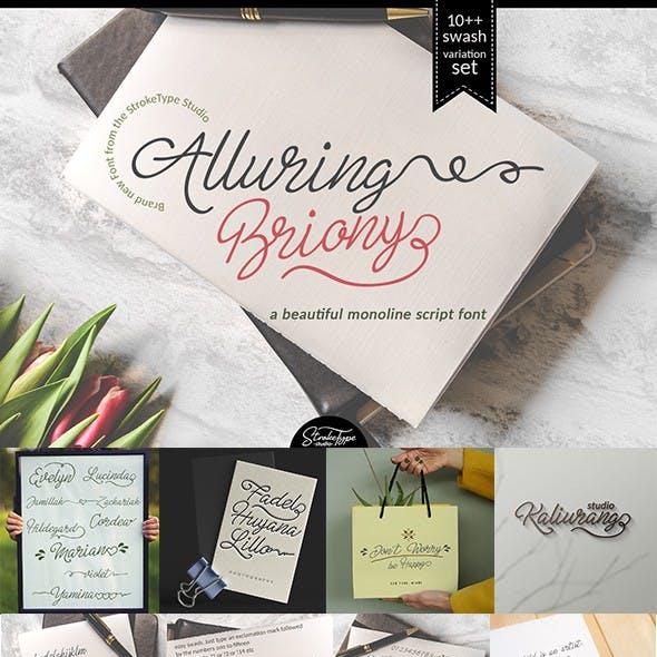 Alluring Briony Font