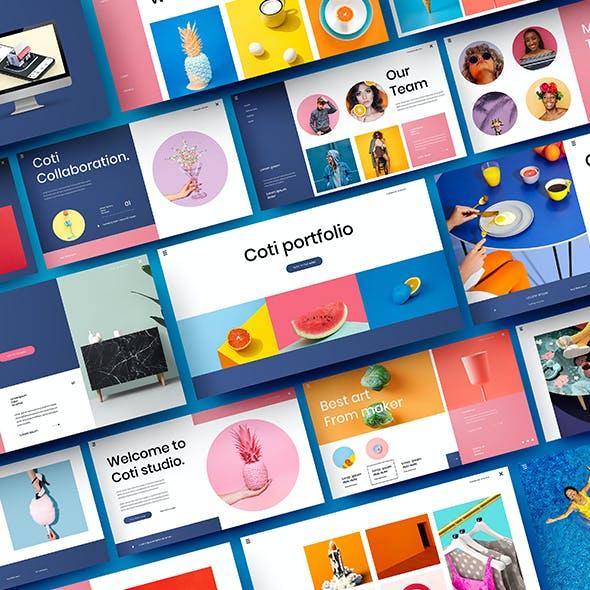 Coti – Business Google Slides Template