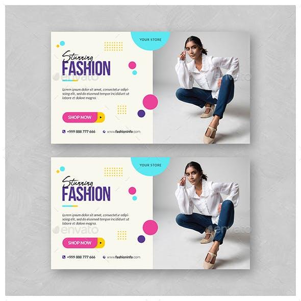 Fashion Web Banner
