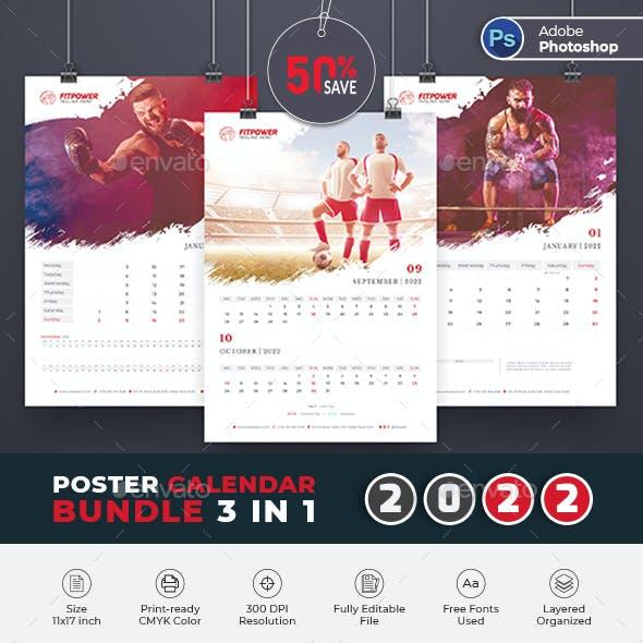 2022 Poster_Calendar Bundle Template