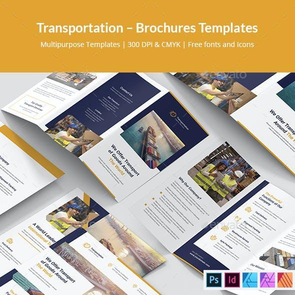 Transportation Brochures Print Templates