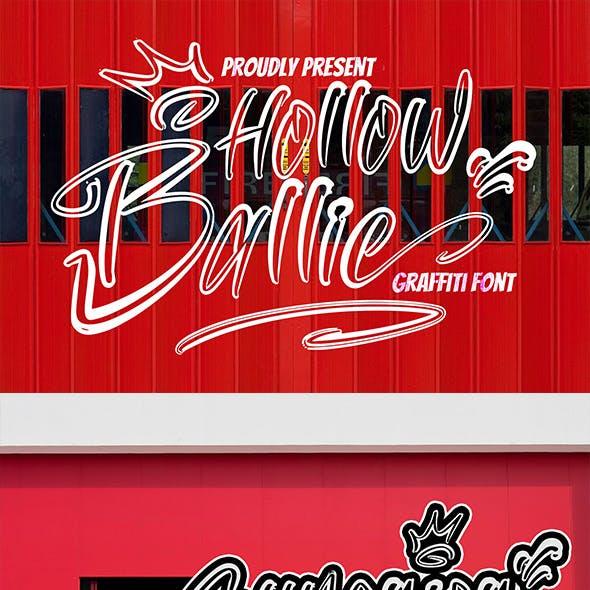 Hollow Ballie - Graffiti Font