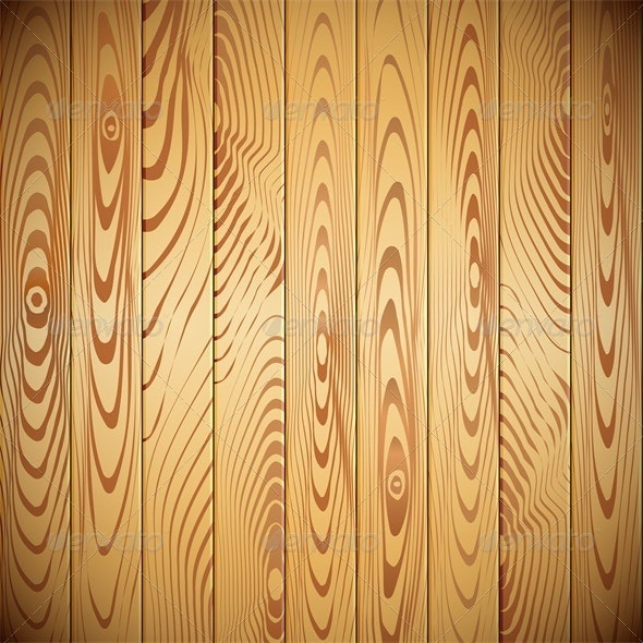 Vector wood planks background - Backgrounds Decorative