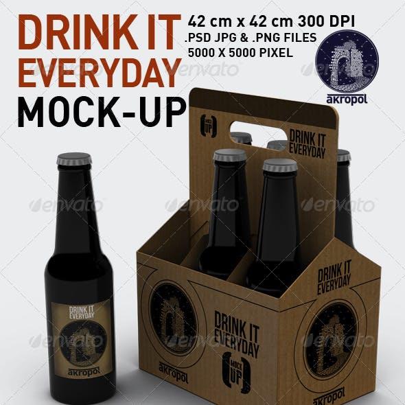 Drink it Mock Up