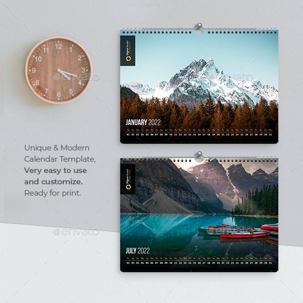 Landscape Calendar 2022