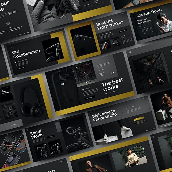 Rendi – Business Google Slides Template