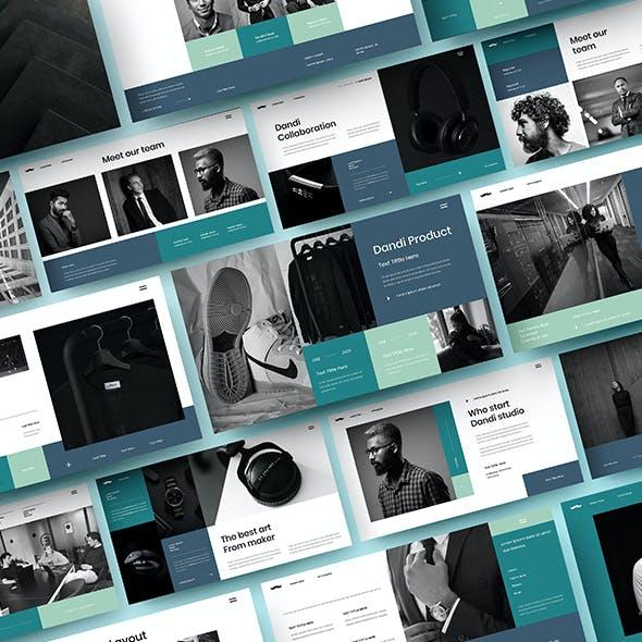 Dandi – Business Google Slides Template