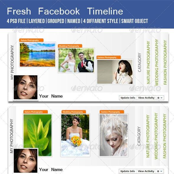 Fresh fb Timeline Cover Image