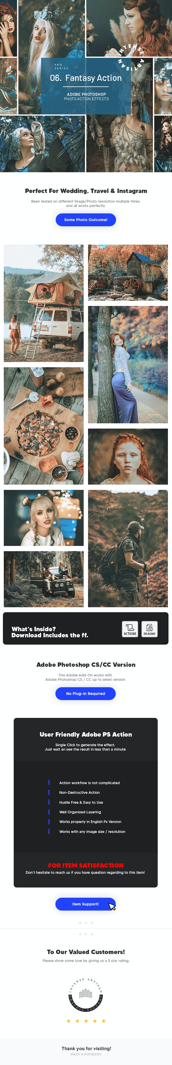 Fantasy Action - Photo Effects - Photo Effects Actions