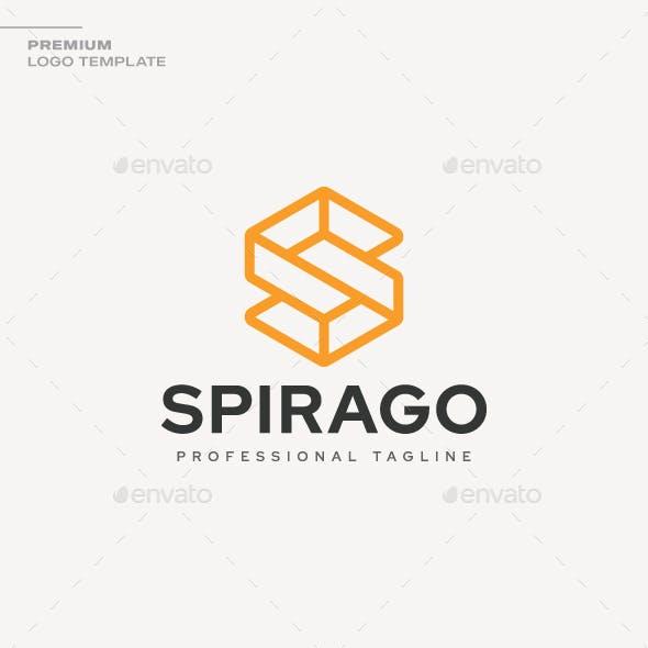 Letter S - Spirago Logo