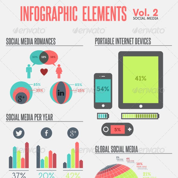 Infographic Elements - Vol. 2