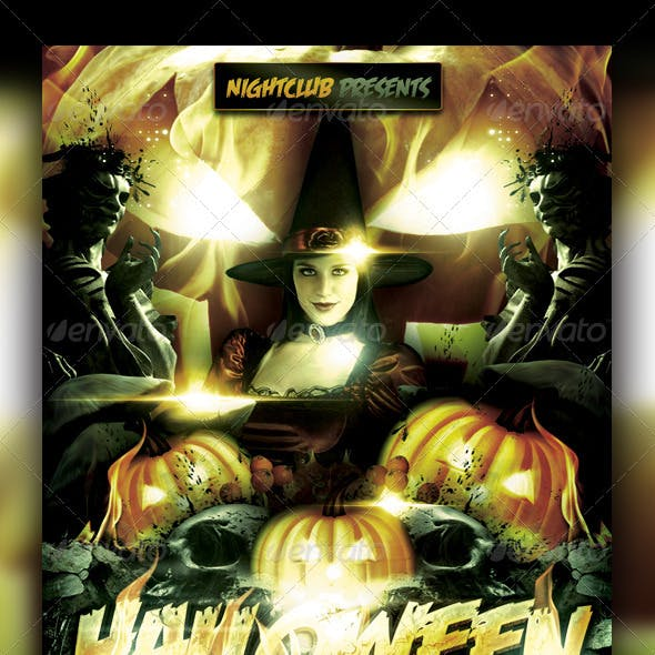 Halloween Flyer Template
