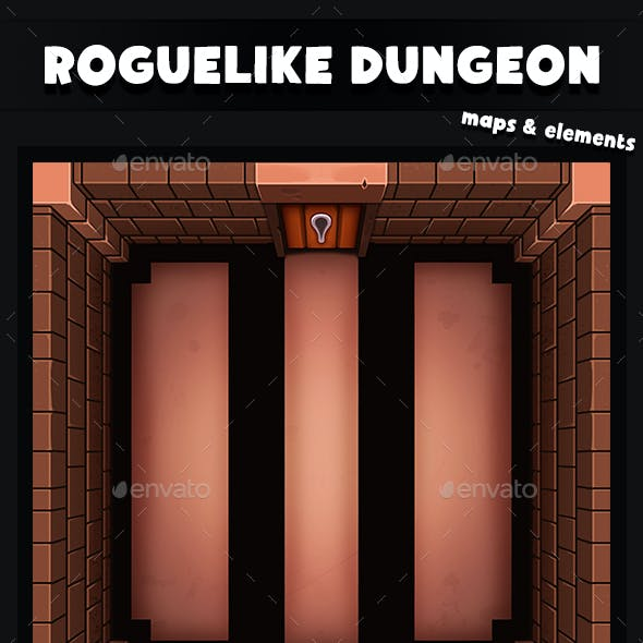 Top-Down Roguelike Dungeon Pack