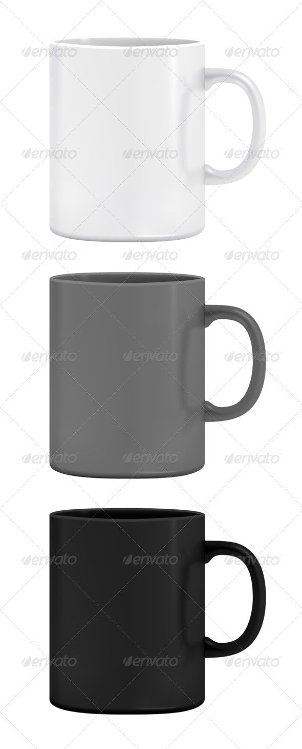 Cup Mockup - Man-made Objects Objects