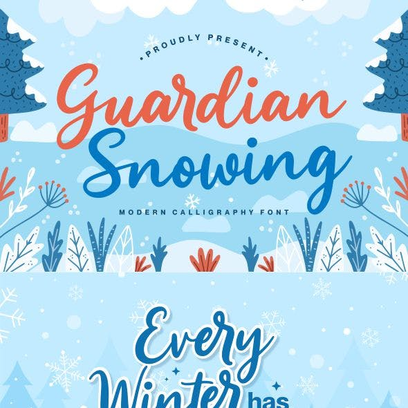 Guardian Snowing