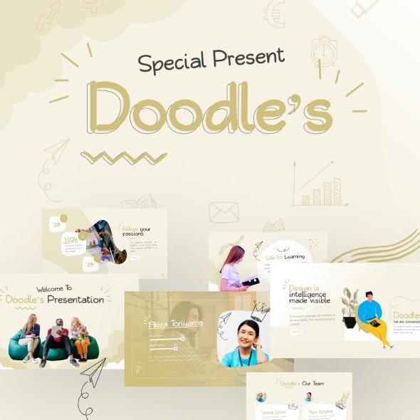 Doodle's Creative Multipurpose PowerPoint Template - PowerPoint Templates Presentation Templates