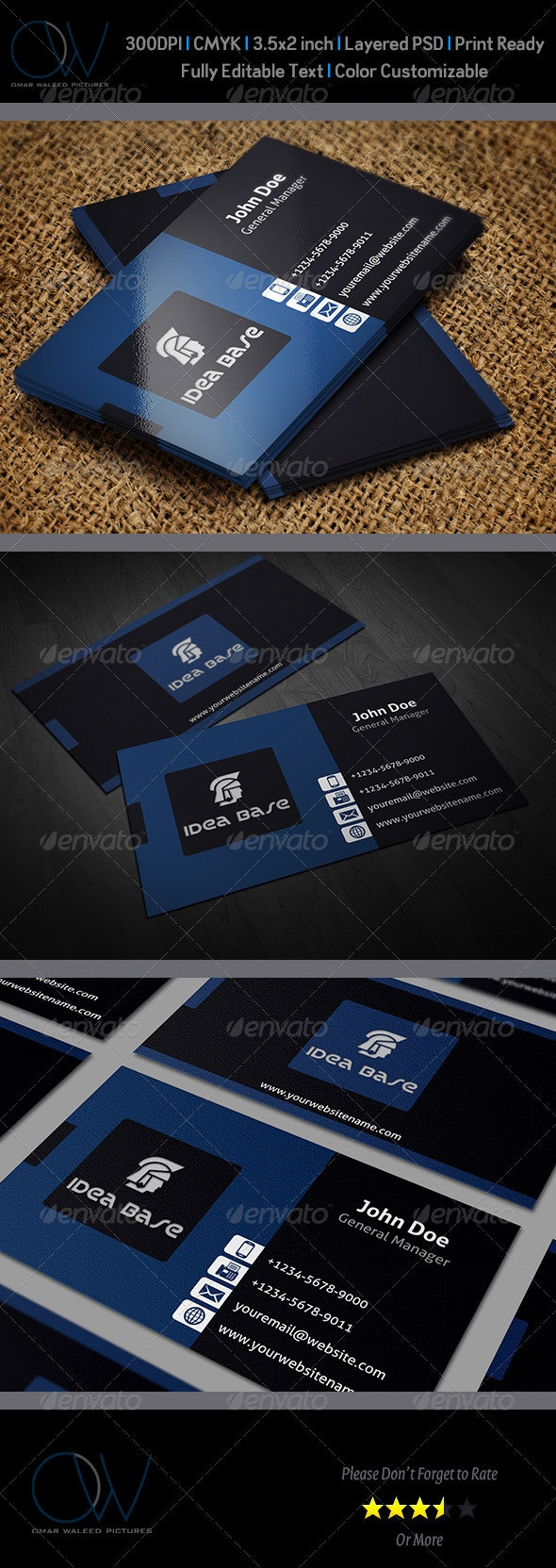 Classic Business Card v1 - Corporate Business Cards