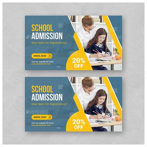 School Education Web Banner