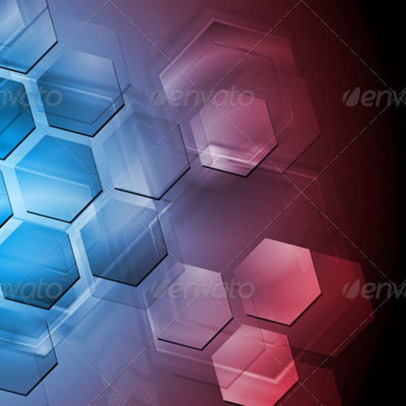 Abstract hi-tech design