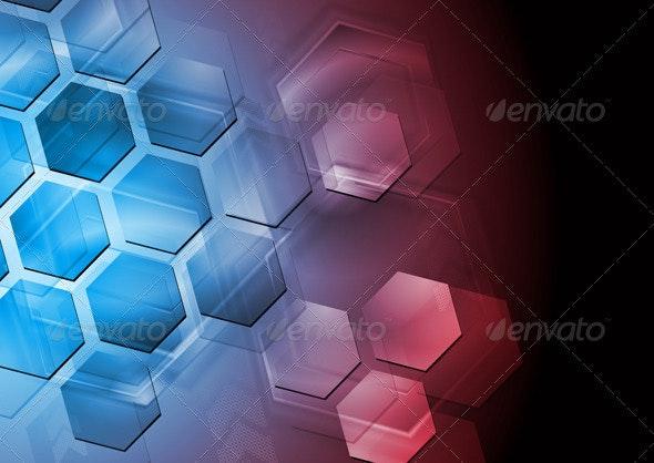 Abstract hi-tech design - Technology Conceptual