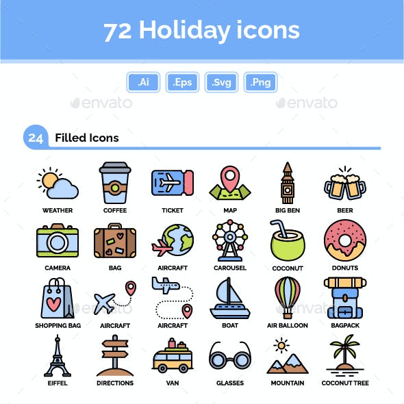 Holiday Icons Pack