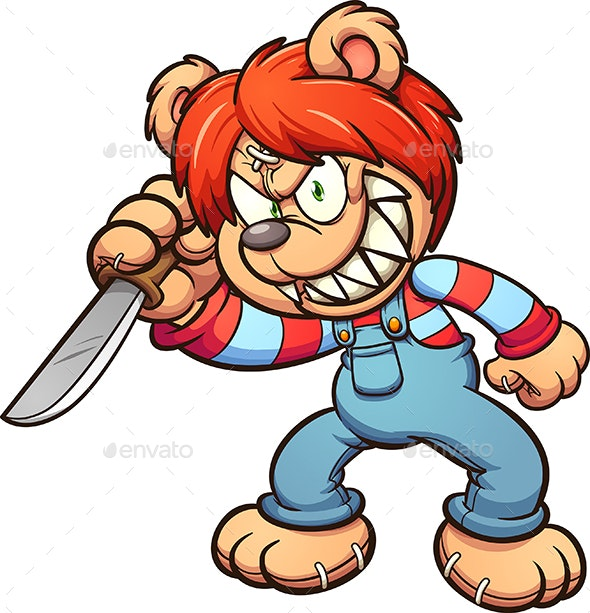 Killer Bear - Animals Characters