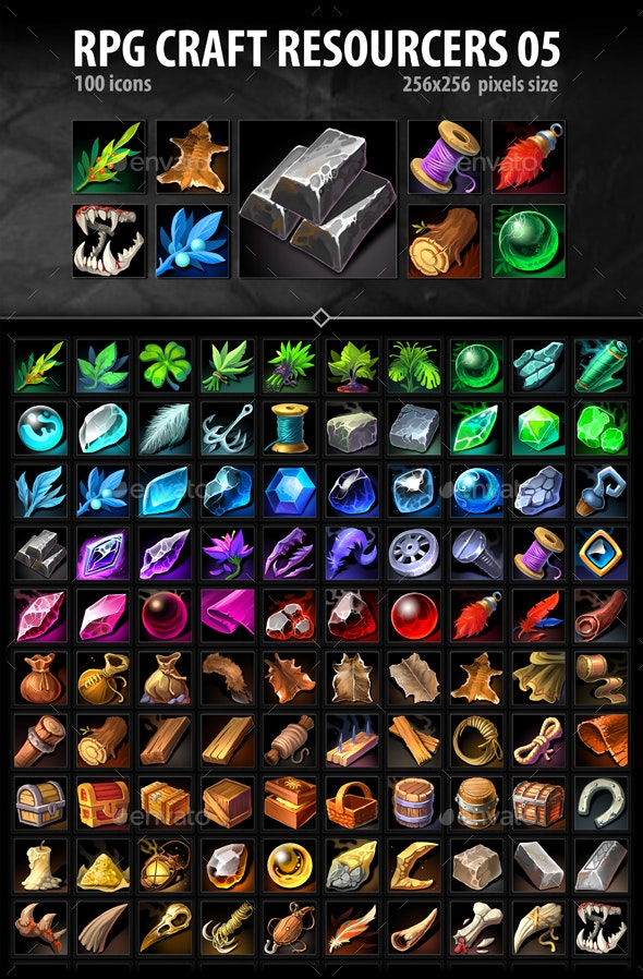RPG Craft Resources 05 - Miscellaneous Game Assets