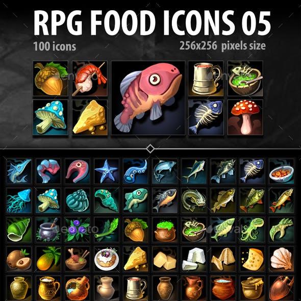 RPG Food Icons 05