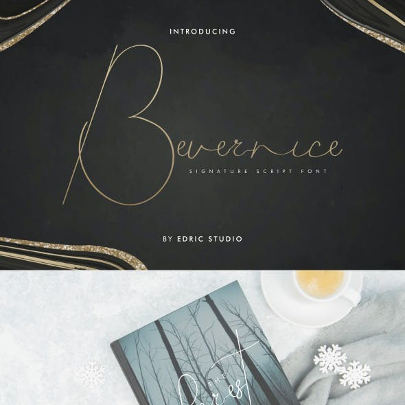 Bevernice Signature Font