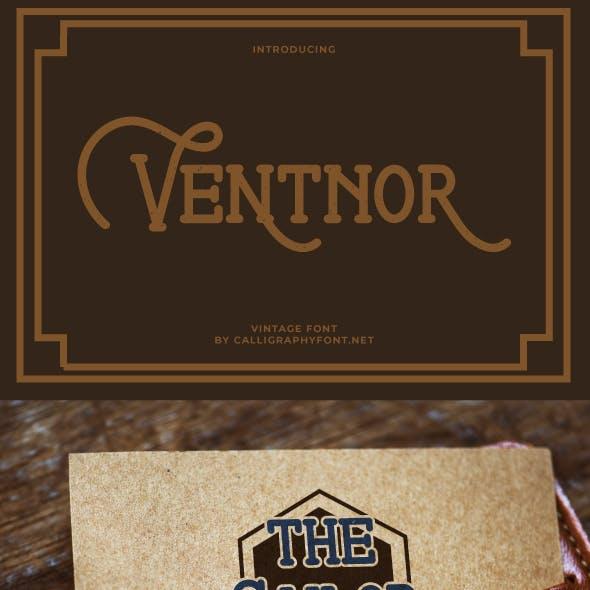 Ventnor Vintage Display Font
