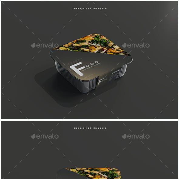 Medium Size Food Container Mockups